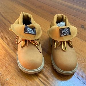 TIMBERLAND TODDLER CLASSIC ROLL-TOP BOOTS